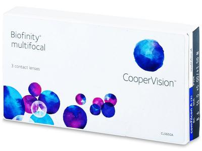 Biofinity Multifocal (3šošovky)