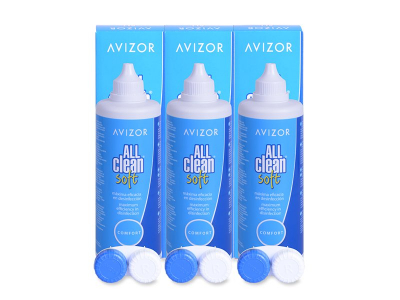 Roztok Avizor All Clean Soft 3x350 ml