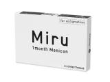 Miru 1 Month Menicon for Astigmatism (6 šošoviek)