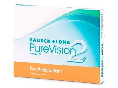 PureVision 2 for Astigmatism (3 šošovky)