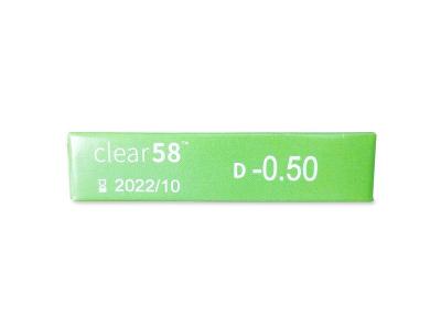 Clear 58 (6šošoviek)