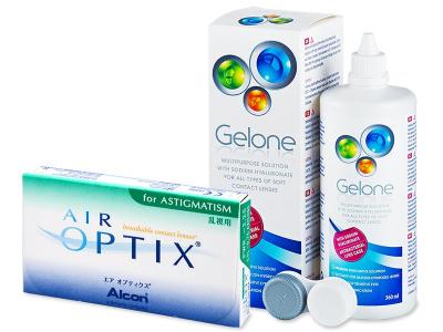 Air Optix for Astigmatism (6 šošoviek) +roztokGelone360ml