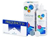 alensa.sk - Kontaktné šošovky - Frequency 55 (6 šošoviek)