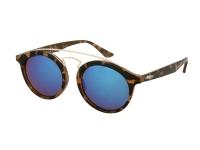 alensa.sk - Kontaktné šošovky - Detské slnečné okuliare Alensa Panto Havana Blue Mirror