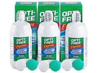 alensa.sk - Kontaktné šošovky - Roztok OPTI-FREE Express 3x355ml