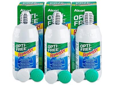 Roztok OPTI-FREE RepleniSH 3 x 300ml