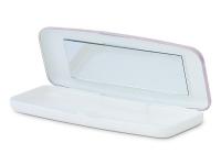 alensa.sk - Kontaktné šošovky - Pevné puzdro na jednodňové šošovky - ružové