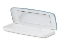 alensa.sk - Kontaktné šošovky - Pevné puzdro na jednodňové šošovky - modré