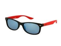 alensa.sk - Kontaktné šošovky - Detské slnečné okuliare Alensa Sport Black Red Mirror
