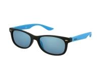 alensa.sk - Kontaktné šošovky - Detské slnečné okuliare Alensa Sport Black Blue Mirror