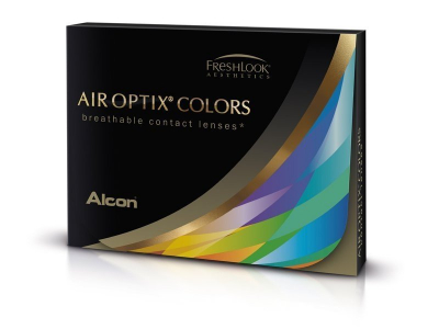 Air Optix Colors - Gemstone Green - nedioptrické (2 šošovky)