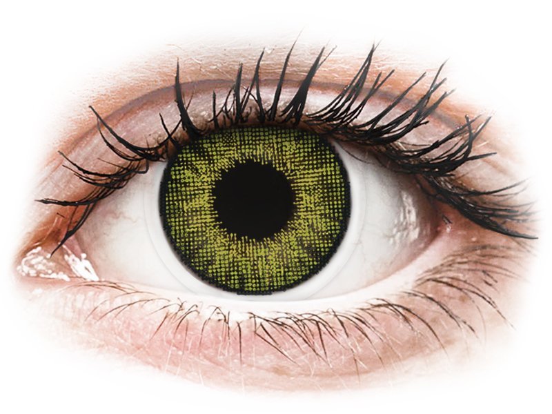 Air Optix Colors - Gemstone Green - nedioptrické (2 šošovky)