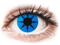 alensa.sk - Kontaktné šošovky - ColourVUE Crazy Lens - Blue Star - nedioptrické