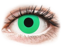 alensa.sk - Kontaktné šošovky - ColourVUE Crazy Lens - Emerald (Green) - nedioptrické