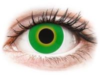 alensa.sk - Kontaktné šošovky - ColourVUE Crazy Lens - Hulk Green - nedioptrické