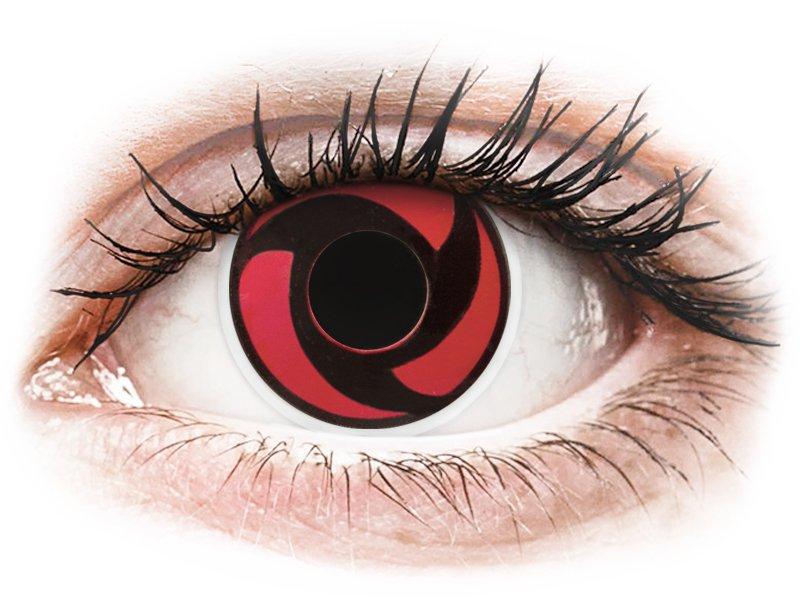 ColourVUE Crazy Lens - nedioptrické (2 šošovky) Mangekyu