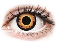 alensa.sk - Kontaktné šošovky - ColourVUE Crazy Lens - Orange Werewolf - nedioptrické