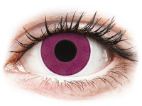 alensa.sk - Kontaktné šošovky - ColourVUE Crazy Lens - Purple - nedioptrické