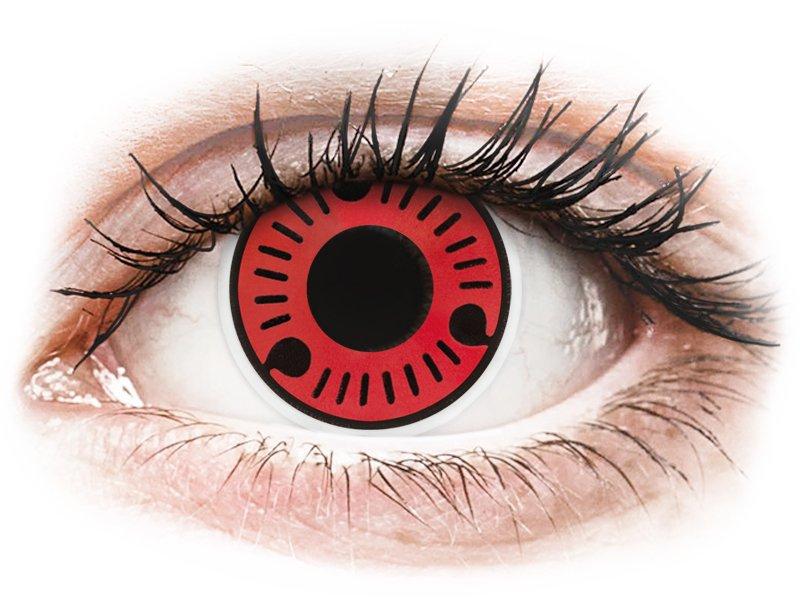 ColourVUE Crazy Lens - nedioptrické (2 šošovky) Sasuke