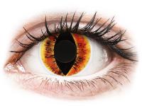alensa.sk - Kontaktné šošovky - ColourVUE Crazy Lens - Saurons Eye - nedioptrické