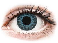 alensa.sk - Kontaktné šošovky - ColourVUE Crazy Lens - Solar Blue - nedioptrické