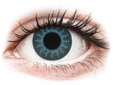 ColourVUE Crazy Lens - Solar Blue - nedioptrické (2šošovky)