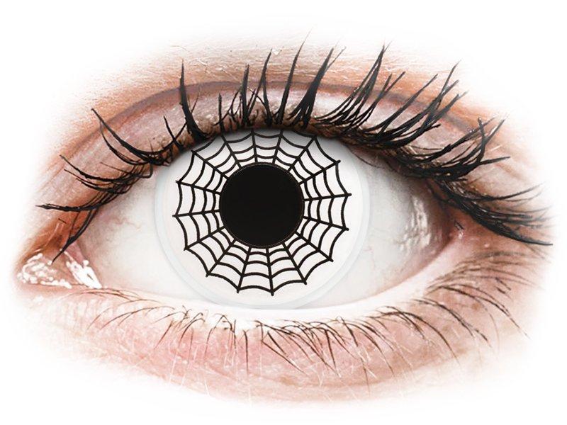 ColourVUE Crazy Lens - nedioptrické (2 šošovky) Spider