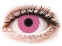alensa.sk - Kontaktné šošovky - ColourVUE Crazy Glow Pink - nedioptrické