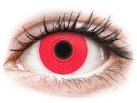 alensa.sk - Kontaktné šošovky - ColourVUE Crazy Glow Red - nedioptrické