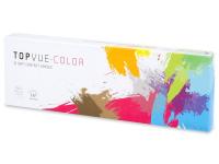 TopVue Color - Blue - dioptrické denné (10šošoviek)