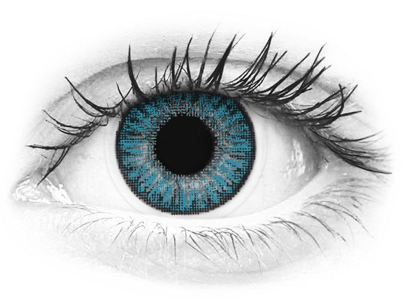 TopVue Color - Blue - nedioptrické denné (10šošoviek)