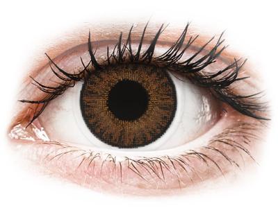 TopVue Color - Brown - nedioptrické denné (10šošoviek)