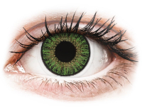 alensa.sk - Kontaktné šošovky - TopVue Color - Green - dioptrické denné