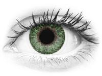 TopVue Color - Green - dioptrické (2šošovky)