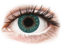 alensa.sk - Kontaktné šošovky - TopVue Color - Turquoise - dioptrické