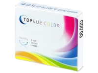 TopVue Color - Grey - nedioptrické (2 šošovky)