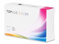 TopVue Color - True Sapphire - nedioptrické (2 šošovky)