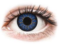 alensa.sk - Kontaktné šošovky - ColourVUE Glamour Blue - dioptrické
