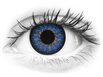 ColourVUE Glamour Blue - dioptrické (2šošovky)