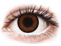 alensa.sk - Kontaktné šošovky - ColourVUE BigEyes Pretty Hazel - dioptrické
