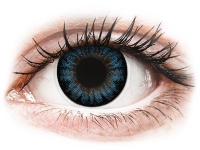 alensa.sk - Kontaktné šošovky - ColourVUE BigEyes Cool Blue - dioptrické