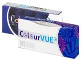 ColourVUE BigEyes Cool Blue - nedioptrické (2šošovky)