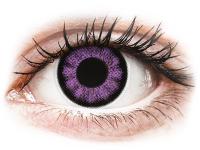 alensa.sk - Kontaktné šošovky - ColourVUE BigEyes Ultra Violet - nedioptrické