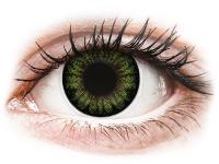 alensa.sk - Kontaktné šošovky - ColourVUE BigEyes Party Green - nedioptrické