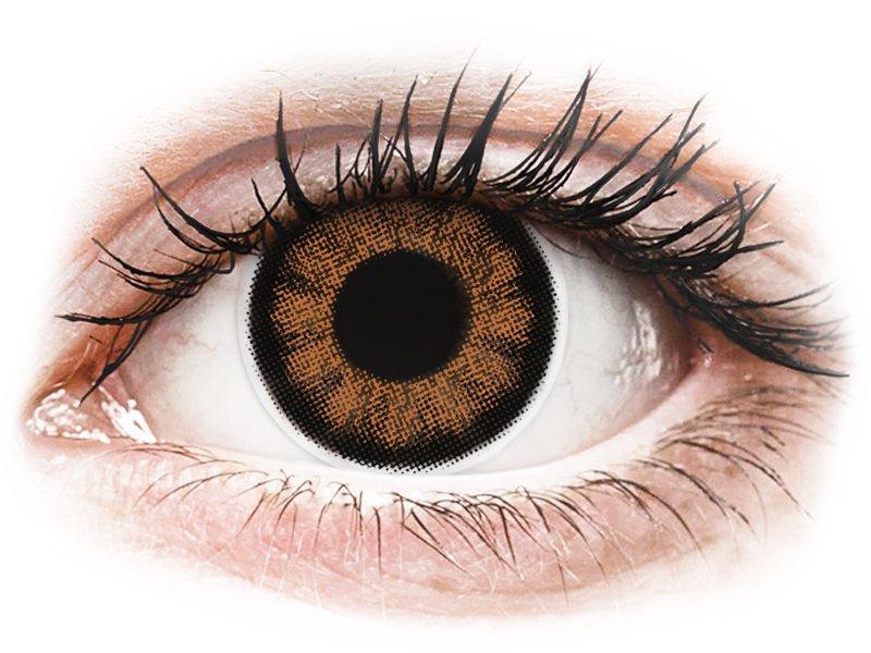 ColourVUE BigEyes Sexy Brown - nedioptrické (2 šošovky)