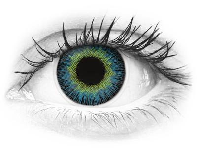 ColourVUE Fusion Yellow Blue - dioptrické (2šošovky)