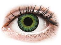 alensa.sk - Kontaktné šošovky - ColourVUE Fusion Green Yellow - dioptrické