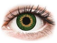 alensa.sk - Kontaktné šošovky - Expressions Colors Green - nedioptrické