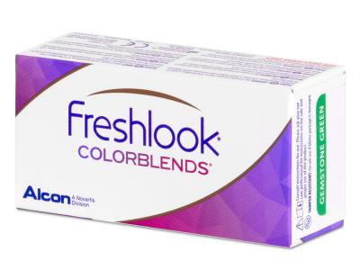 FreshLook ColorBlends Brilliant Blue - dioptrické (2 šošovky)