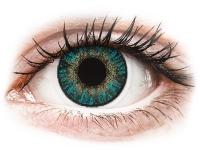 alensa.sk - Kontaktné šošovky - FreshLook ColorBlends Turquoise - nedioptrické